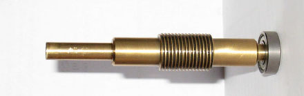 Current Brass Losmandy worm, or previous steel version